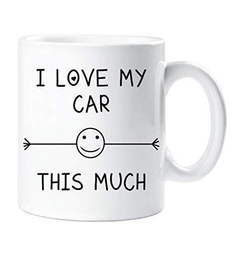 I Love My Car This Much Mug Friend Husband Boyfriend Grandad Uncle Birthday Gift