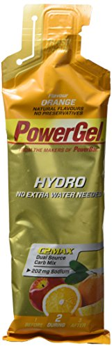 POWERBAR Lot de 24 Hydro Gels - Orange - 67 ml