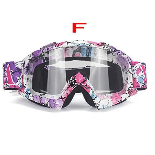 Occhiali da Sci per Uomo e Donna 100% Protezione UV e Occhiali antinebbia per Snowboard, F2