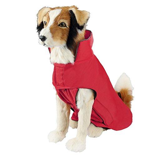 SymbolLife Strato di Pet, Giacca Impermeabile al 100% con Strato di Rivestimento in Nylon per Cani...