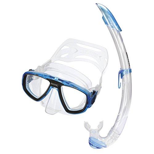 Seac Set Extreme, Kit maschera sub per lenti graduate e boccaglio snorkeling