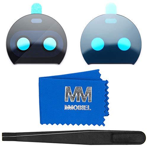 MMOBIEL Repuesto Lente Cámara Trasera Compatible con Motorola Moto G5S Plus 5.5 Pulg (Negro) Inc Pinza Limpiador
