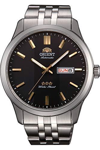 Orient Orologio Analogico Automatico Uomo con Cinturino in Acciaio Inox RA-AB0013B19B