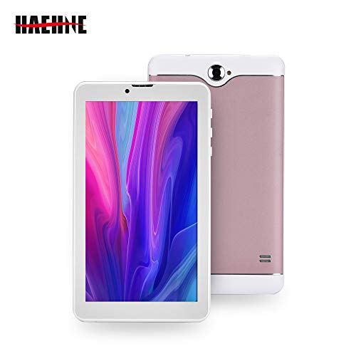 Haehne 7 Pollici Tablet PC, 3G GSM Phablet, Google Android 6.0 Quad Core, 1GB RAM 16GB ROM, Doppia...