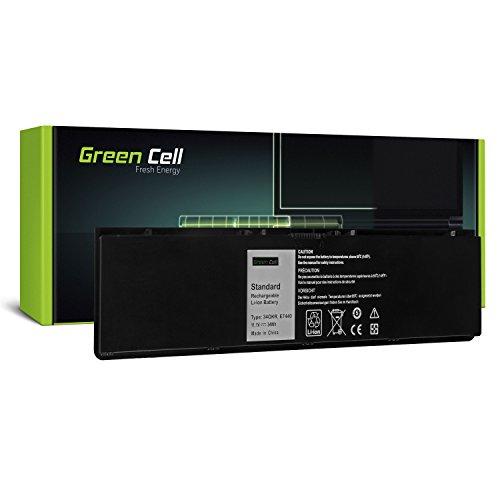 Green Cell® 34GKR 3RNFD F38HT PFXCR Laptop Akku für Dell Latitude E7440 E7450 (Li-Polymer Zellen 3060mAh 11.1V Schwarz)