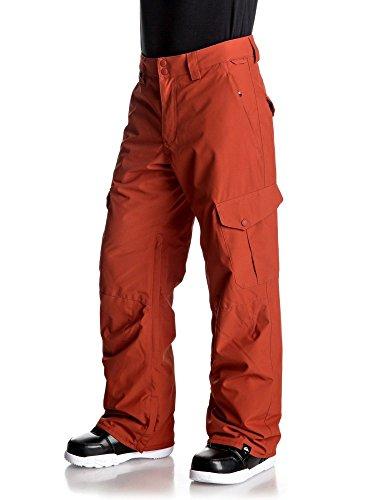 Quicksilver Pantalone Uomo Snowboard Porter Arancio S