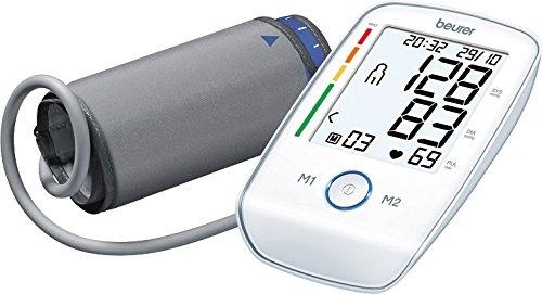 Beurer BM 45 Misuratore di Pressione da Braccio con Funzione di Memoria, Rilevazione Aritmie e...