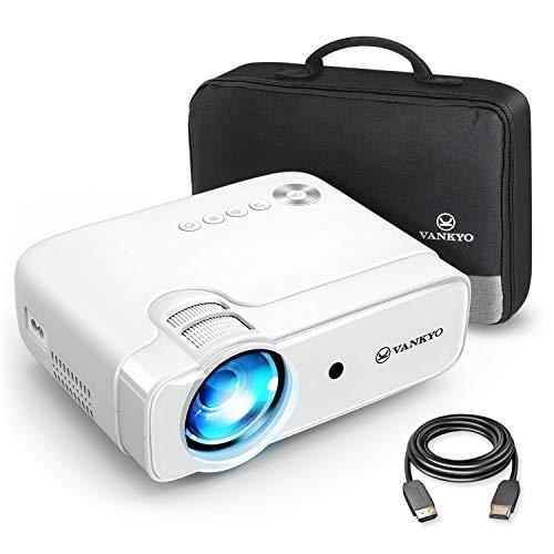 VANKYO Leisure 430 - Mini proiettore, 4500 lumen, proiettore Home Theatre, supporto 1080P Full HD con LED 50000 ore, compatibile con TV Stick, HDMI, SD, AV, VGA, USB, PS4, X-Box, iOS/Android