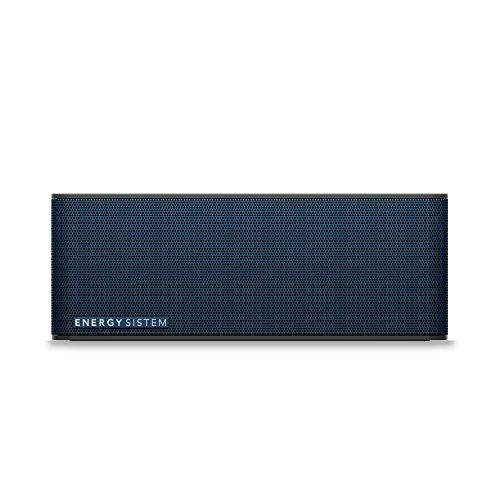 Energy Sistem Music Box 5 - Altavoz portátil (Bluetooth, 10 W, manos libres, batería recargable, 182 x 53 x 66 mm), negro