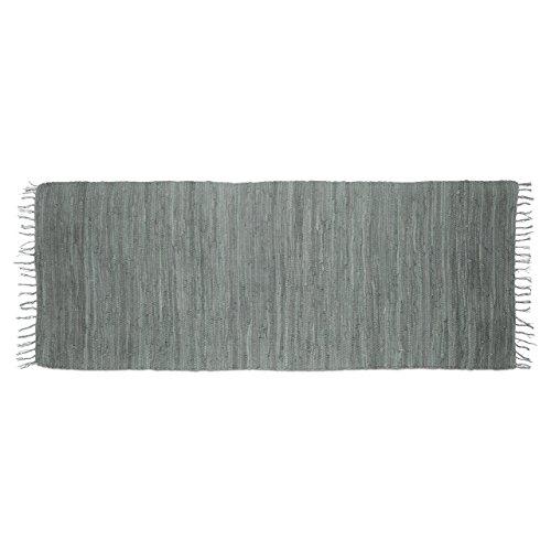 Relaxdays 10020461_586 Tappeto Patchwork con Frange, 80 x 200 cm, Passatoia Corridoio in Cotone,...