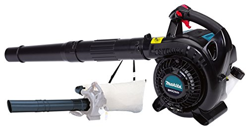 The Makita Petrol Blower BHX2501 is our runner-up model when it comes to petrol leaf blowers, both a blower and vacuum it has lots of power and is a great choice for home use.