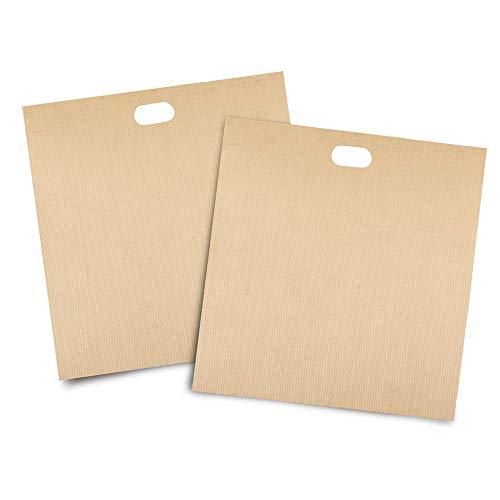 Tostapane sacchetti-2PCS resistente al calore antiaderente riutilizzabile tostapane borse tasche...
