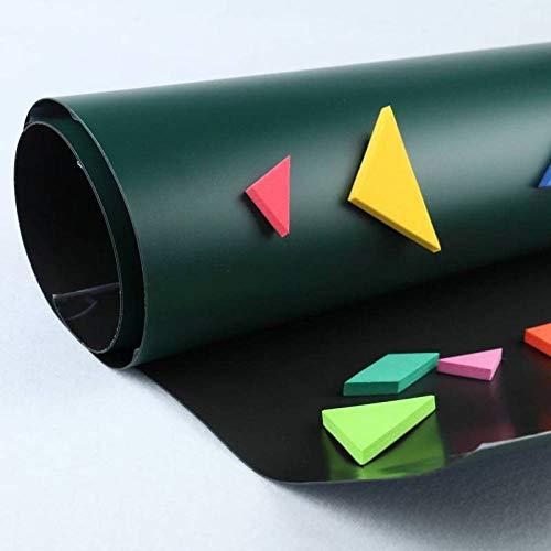WISDOM Pellicola magnetica per muro pellicola-0,65 mm Lavagna per lavagna Adesiva per bambini...
