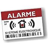Decooo.be - Autocollants dissuasifs Alarme - Système électronique - Lot...