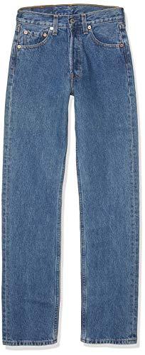 Levi'S 501 Original Straight Fit, Jeans Uomo, Blu (Stonewash 0114), W36/L34