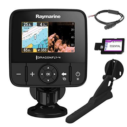 Raymarine E70294-CEUR Sonar/GPS Dragonfly-4Pro 4,3' (10,9 cm), CHIRP Down Vision integrata, CPT-DVS Geber, WiFi, cartografia EU-CMAP Essentials