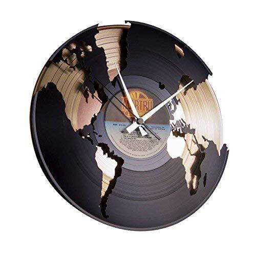 Disc'O'Clock Orologio, PVC, Oro, N/D