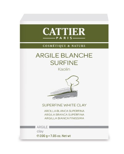 Cattier Vrac Argile Blanche Surfine 200 g Lot de 2