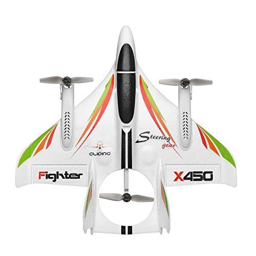 Zinniaya XK X450 3D Aerobatic RC Aereo 6 canali Telecomando Atterraggio verticale Decollo Aereo ad ala fissa Giocattoli per elicotteri Drone