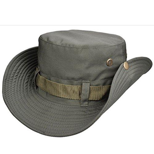 Beileer elegante sombrero de protección UV al aire libre sombrero para  exteriores Pesca Camping Ciclismo Caza ede370c15d0