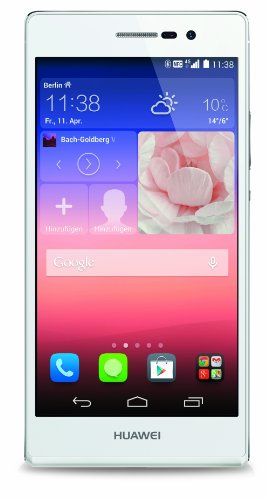 "Huawei Ascend P7 - Smartphone libre Android (pantalla 5"", cámara 13 Mp, 16 GB, Quad-Core 1.8 GHz, 2 GB RAM), blanco"