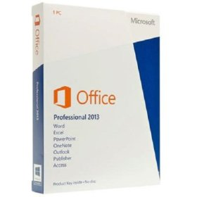 Office Professional 2013 - 1 User (licence card) [import anglais]