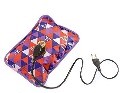 V Care Electric Rechargeable Heating Pad for Body Pain Relief -Multicolour