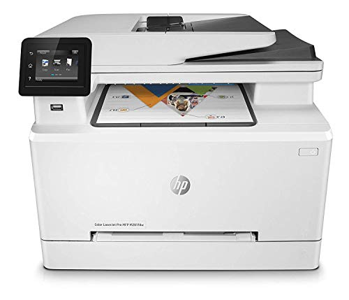 HP LaserJet Pro M281fdw T6B82A Stampante Multifunzione Laser a Colori 4-in-1 AIO, Stampante,...