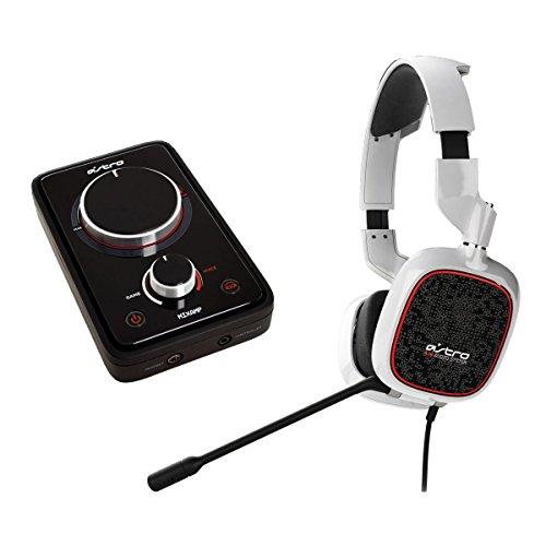 "ASTRO Gaming A30 + MixAMP Pro - Auriculares con micrófono (Consola de juegos, Binaurale, Diadema, Color blanco, 3.5 mm (1/8""), Alámbrico)"
