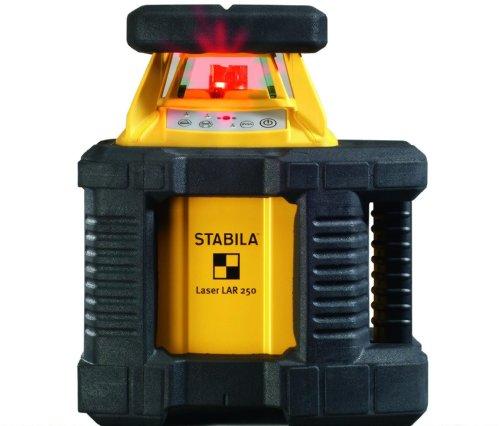 Stabila 17106 Rotation-Laser Lar 250 Komplett Set mit Receiver REC 300 Digit