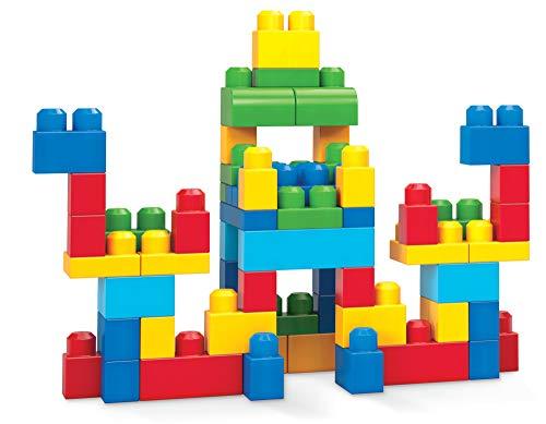 Mega Bloks Construx 900 DCH55 Big Building Bag, Blue, 60 Pieces