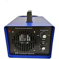 Concise Home Lampada UV Generatore Commerciale di Ozono Deodorante Nero Sterilizzatore Industriale O3 per Purificatore d'aria
