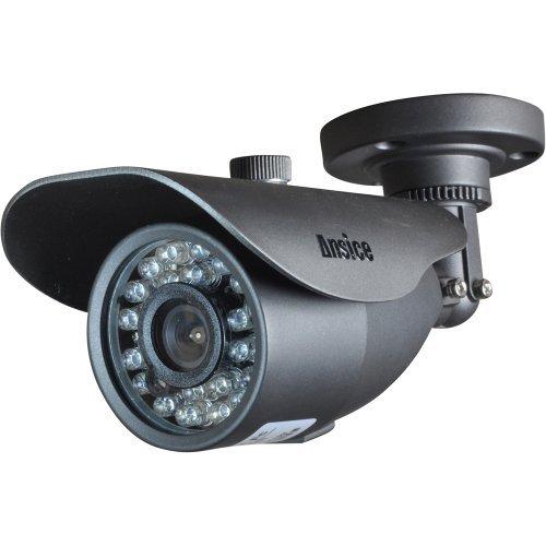 Ansice - Telecamera di sicurezza per esterni o sorveglianza domestica, grandangolo 3,6 mm, 1000TVL CMOS con IR-CUT, diurna e notturna, luci LED infrarossi con custodia inclusa