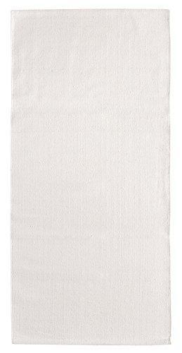 Andiamo - Tappeto Milo fatto a mano, in 100% cotone, facile da pulire e lavabile, tinta unita,...
