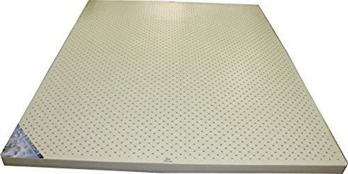 Foams India Natural Latex Portable Mattress (Off White, 72X30X2 inch)