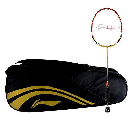 Li-Ning Combo (Li-Ning Smash 90 XP II Racquet with Li-Ning ABDJ118 Black Kit Bag)