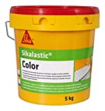 Morbido rivestimento di impermeabilizzazione Tetti/terrazze/facciate/lamiere ondulate-sikalastic color-5kg