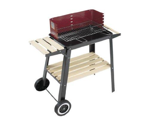 Grillchef 0566 Barbecue à Charbon Chariot 84 x 44,5 cm