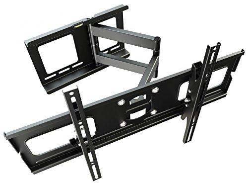 RICOO Supporto da Parete TV Montaggio R05 Staffa per televisore Piatto inclinabile Girevole Smart 4K...