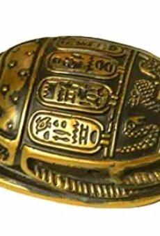 Egipto Figura Decorativa Coleccionable Estatua Escarabajo Amuleto