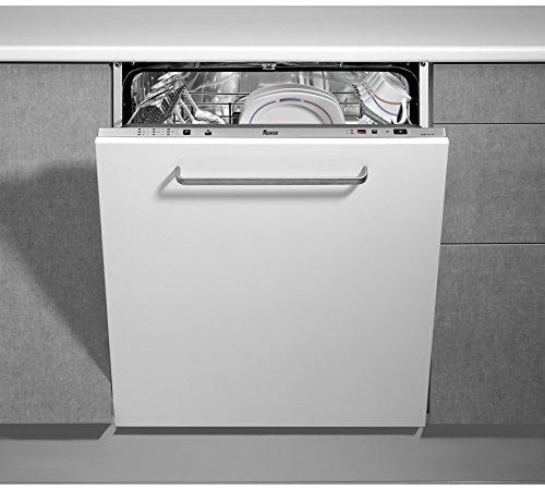 Teka DW7 57 FI - Lavavajillas (Totalmente integrado, Color blanco, LED, 49 Db, A, 70 °C)