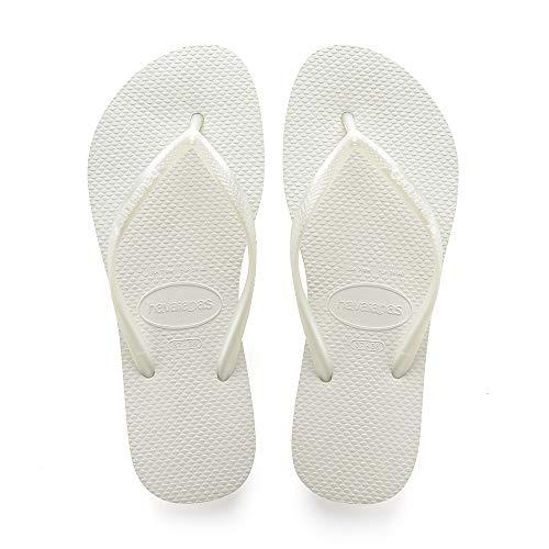 Havaianas Slim 4000030, Infradito Donna, Bianco (Bianco), 35/36 EU