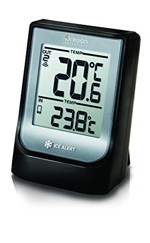 Oregon Scientific EMR211X Termometro Bluetooth con Temperatura Interna ed Esterna, Nero