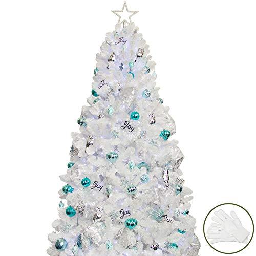 Decorazioni Natalizie A Led.Il Miglior Albero Di Natale A Led Scopri La Lista E Le Recensioni Presepe Info