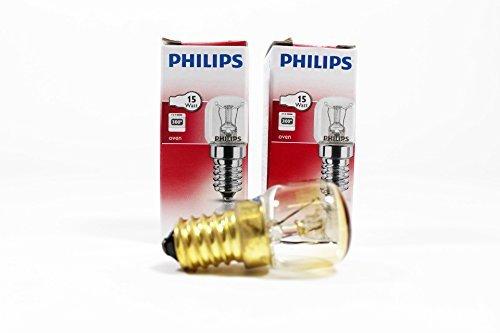 Philips 15W E14/SES forno lampada lampadina 300gradi compatibile con attacco a vite...