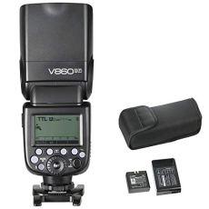 Godox V860II-F2.4G TTLLi-on - Linterna de batería para cámaras Fujifilm DSLR