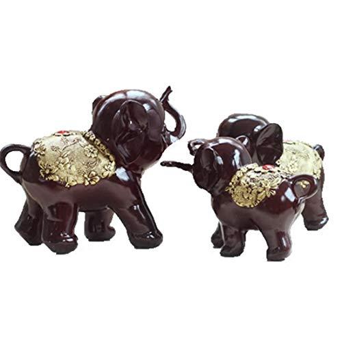 Foraging hamster Buon auspicio Ornamenti Elefante Un Paio di armadi Vino Creativo Accessori per la...