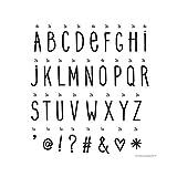 A little lovely Company - Buchstaben Handschrift - Lightbox letter set - für alle Leuchtkästen - Inhalt: 85 Stück