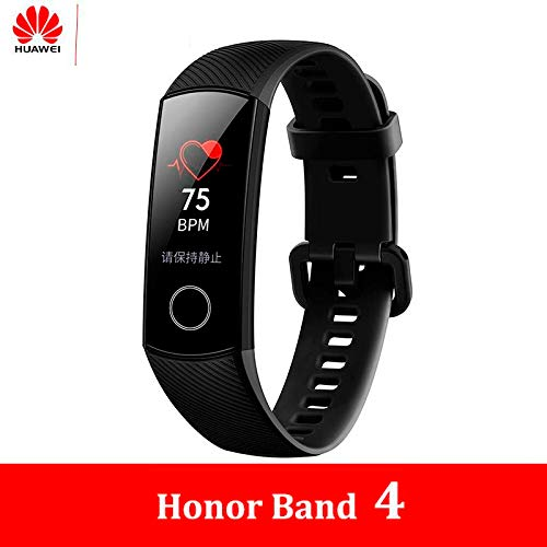 Huawei Honor Band 4 - Modelo 2019 - Pulsera de Actividad Inteligente Unisex Adulto, Color Midnight Blue, Talla Única