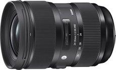 Sigma 24-35mm F2 DG HSM Art - Objetivo para cámara réflex Nikon (diámetro filtro 82 mm), color negro